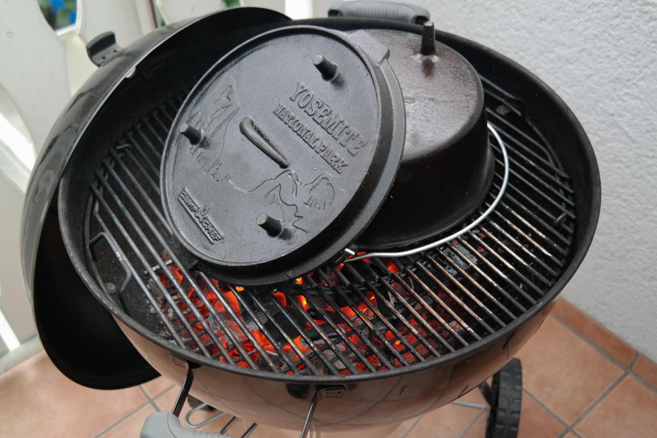 Pulled Pork Dutch Oven Gasgrill Temperatur : Mein neuer dutch oven feuerkind