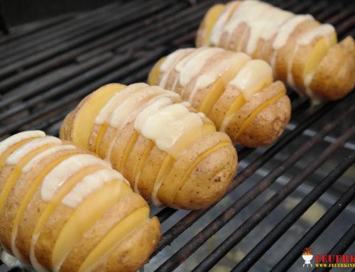Fächerkartoffeln mit Käse